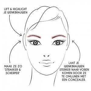 concealer.eyebrows